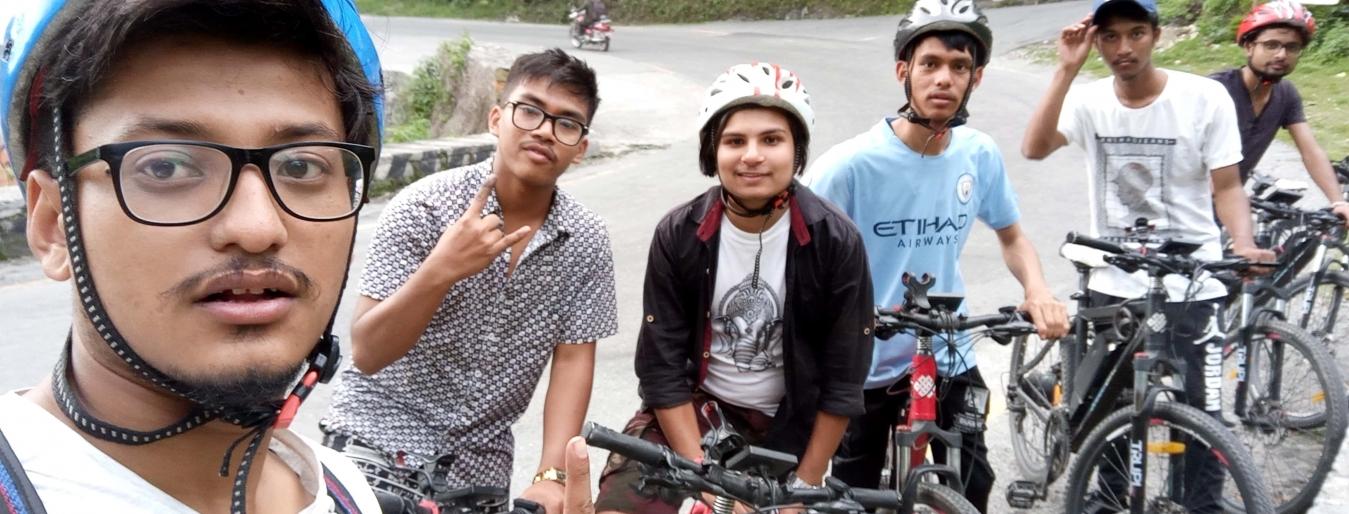 Mountain Biking Tour Around Pokhara