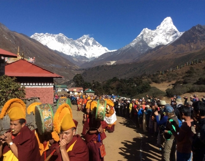 Mani Rimdu Festival with Everest Trek