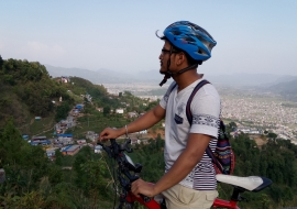 Mountain Biking Tour Around Pokhara