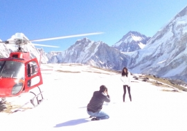 Everest Base Camp Trek & Fly Back By Helicopter